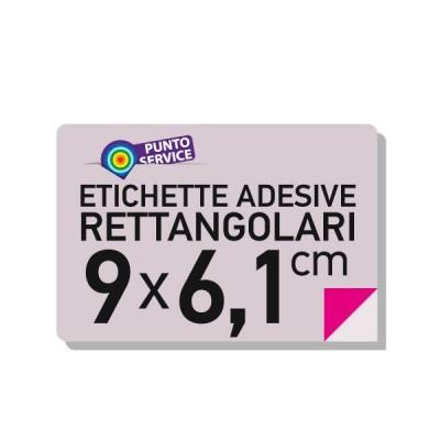 Etihette adesive 9X6,1