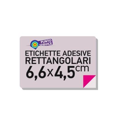 Etichette adesive 6,6x4,5