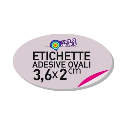 Etichette adesive 3,6x2