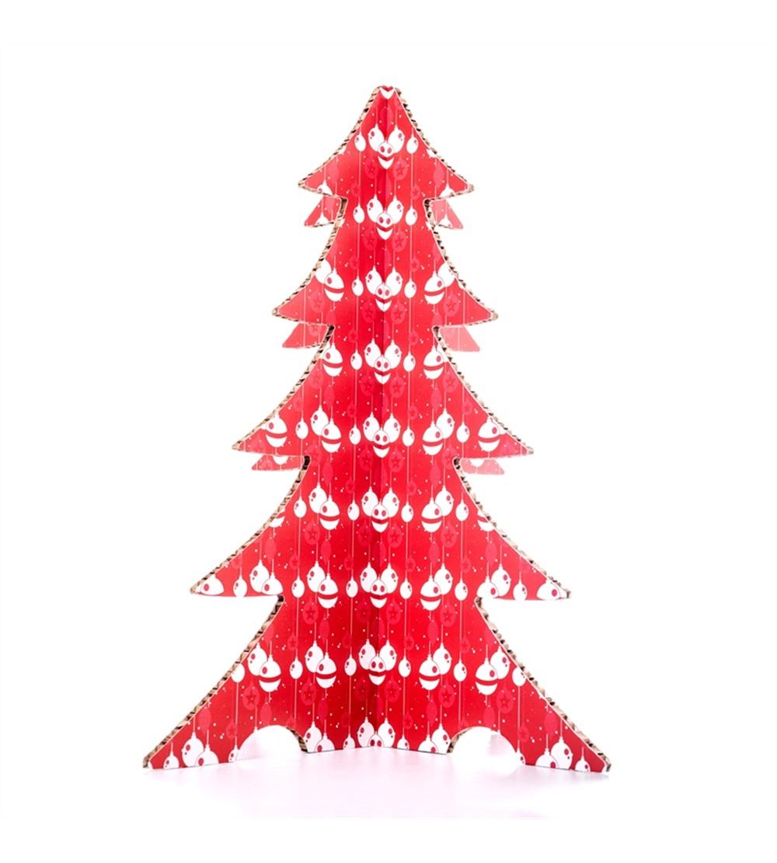 Foto Di Alberi Di Natale.Albero Di Natale Colorato Palline Rosso Psw Xmas Albcol 03
