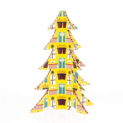 #PuntoService - Albero di Natale Colorato - #Pacchi Giallo_2
