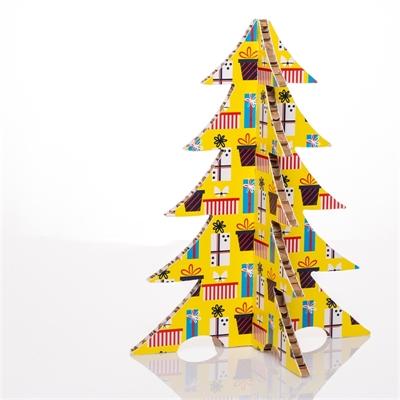 #PuntoService - Albero di Natale Colorato - #Pacchi Giallo_3