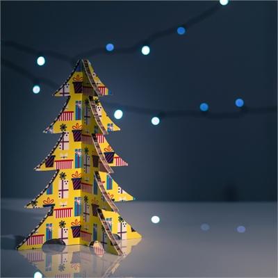 #PuntoService - Albero di Natale Colorato - #Pacchi Giallo_7