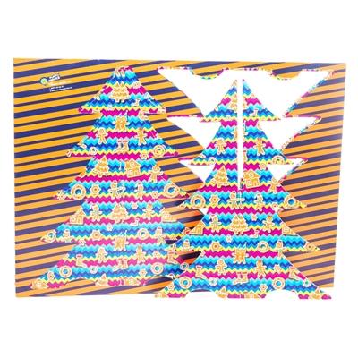 #PuntoService - Albero di Natale Colorato - #Pan di Zenzero_2