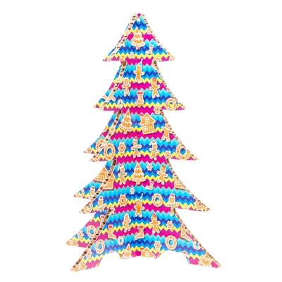 #PuntoService - Albero di Natale Colorato - #Pan di Zenzero_3