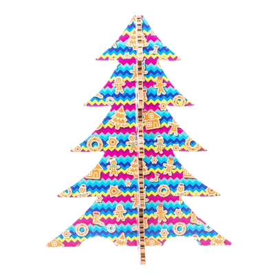 #PuntoService - Albero di Natale Colorato - #Pan di Zenzero_5