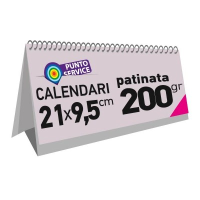 Calendari da banco 21x9,5 cm