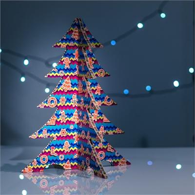 #PuntoService - Albero di Natale Colorato - #Pan di Zenzero_7