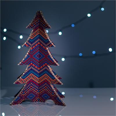 #PuntoService - Albero di Natale Colorato - #Etnico_4