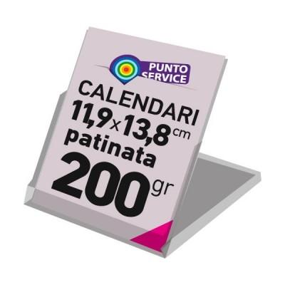 Calendari da banco con basetta 11,9x13,8 cm