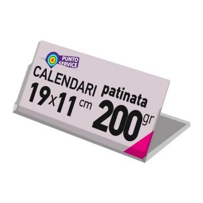 Calendari da tavolo con basetta 19x11 cm