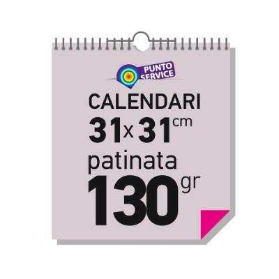 Calendari da parete 31x31 cm