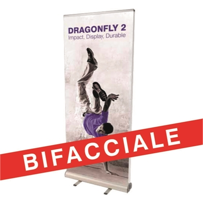 roll up DRAGONFLY BIFACCIALE