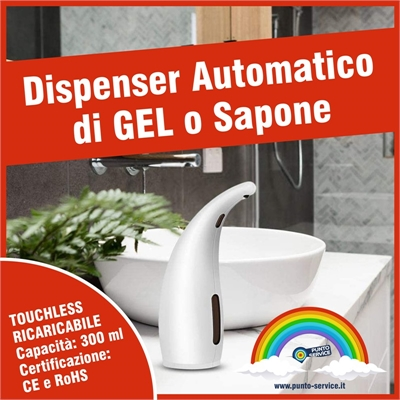 Dispenser Automatico Gel Igienizzante 2
