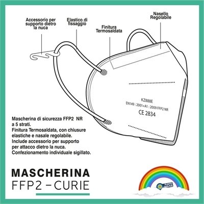 Mascherina FFP2 2