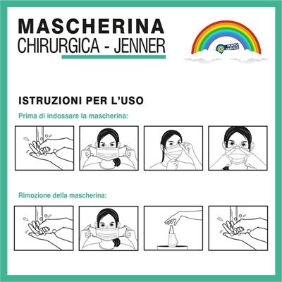 Mascherina Chirurgica Jenner 3