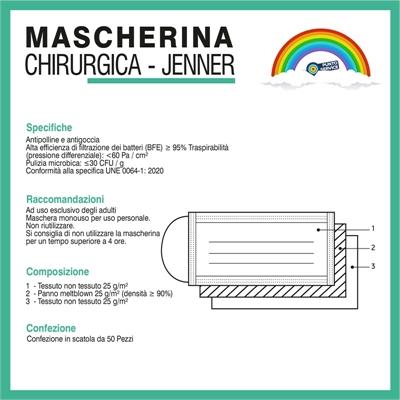 Mascherina Chirurgica Jenner 4