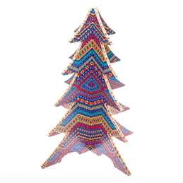 #PuntoService - Albero di Natale Colorato - #Etnico_3