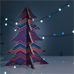 #PuntoService - Albero di Natale Colorato - #Etnico_7