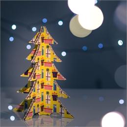 #PuntoService - Albero di Natale Colorato - #Pacchi Giallo_1