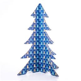 Albero di Natale Colorato - #Alberelli Blu 1