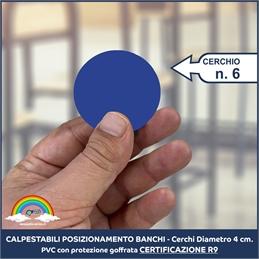 Cerchi Adesivi Posizionamento Banchi 6