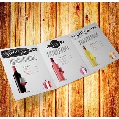 Brochure 21x29,7 cm 3 ante