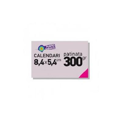 Calendari tascabili 84x54mm carta patinata 300gr